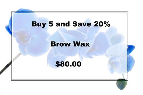 Buy 5 Brow Wax and Save 20%