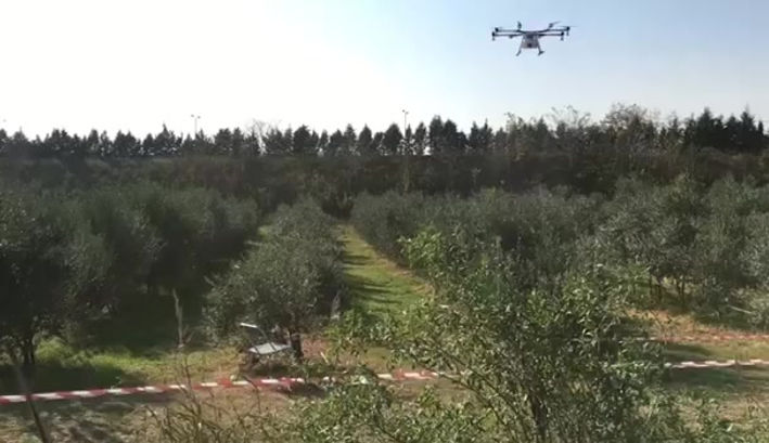 Drone Spraying be 3D s.a.