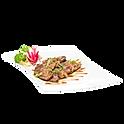 teppan yaki aigamo hoisin or prunes sauce