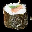 Sake chuka wakame maki