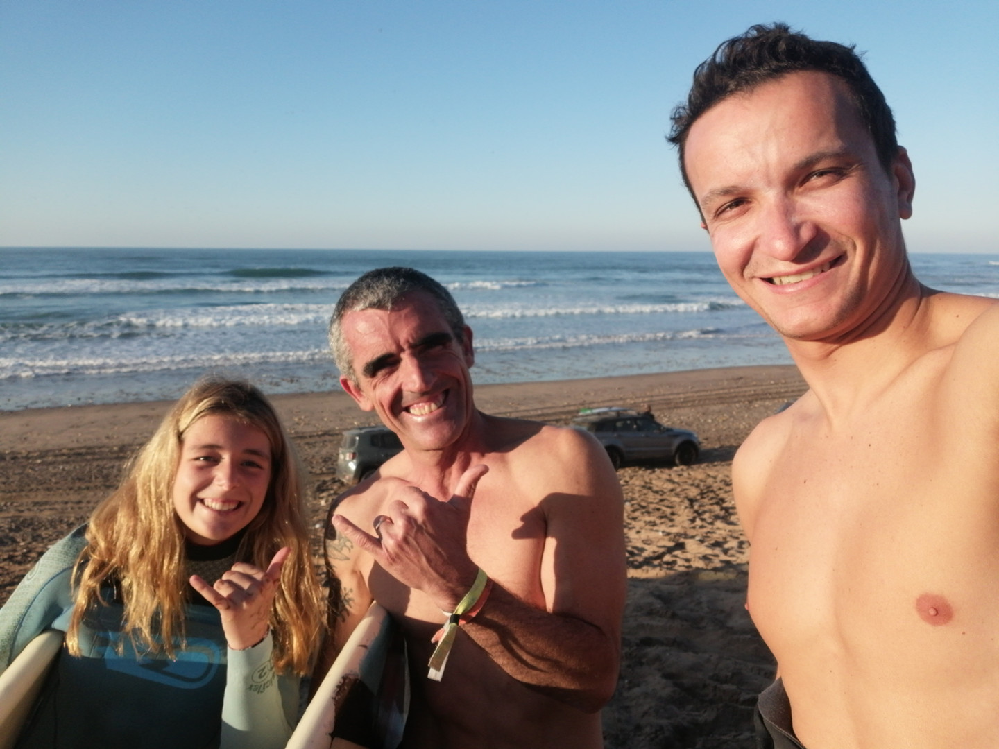 Fun and great experience while surfing and visiting the region of Casablanca