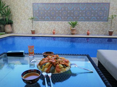 Une cuisine succulente