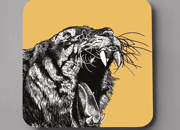 Tiger Coaster - Single