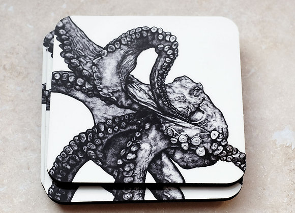 Octopus Coasters (Pack of 4)
