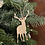 Thumbnail: Plywood Stag Decoration