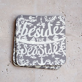 miss papercut seaside nautical coasters homeware
