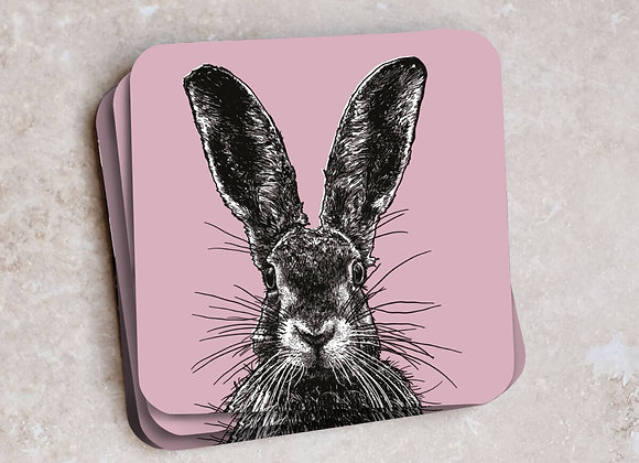 Hare Coasters - Pack of 4