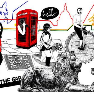 London Transport Cavalcade Illustration