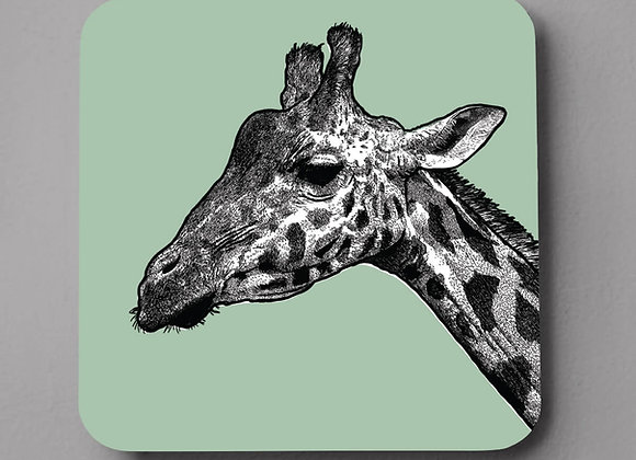 Giraffe Coaster - Single