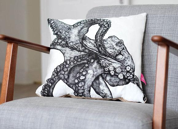 Illustrated Octopus Cushion