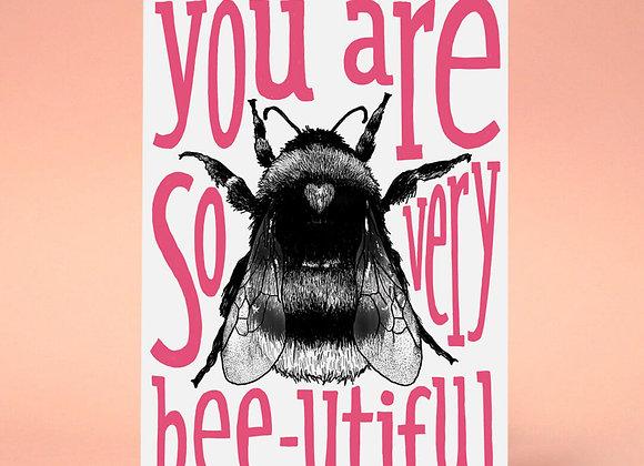 Bee-utiful Love Card