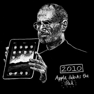 Steve Jobs Debuts the iPad