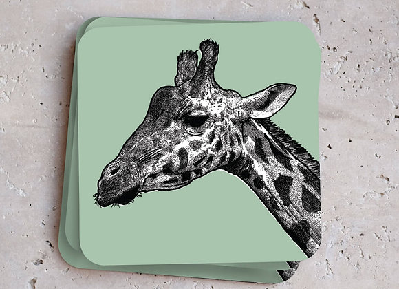 Giraffe Coasters (Pack of 4)