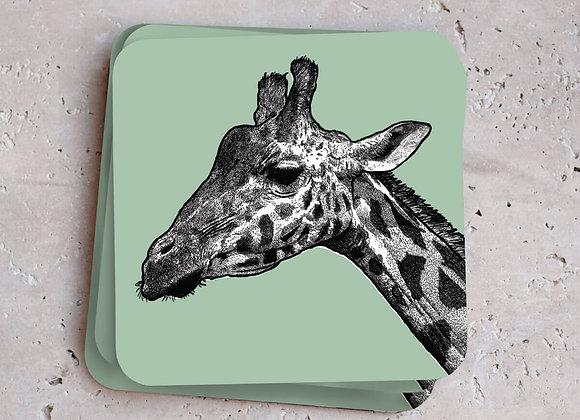 Giraffe Coasters - Pack of 4