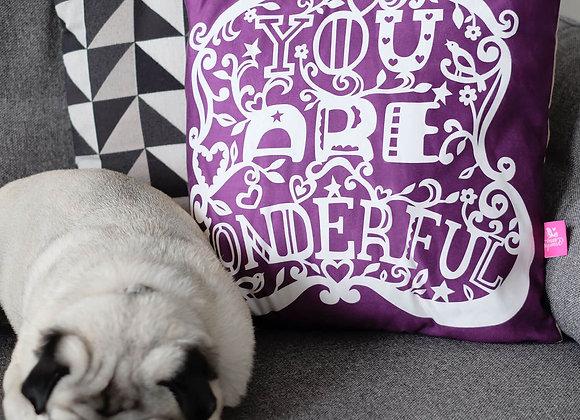 You Are Wonderful Cushion