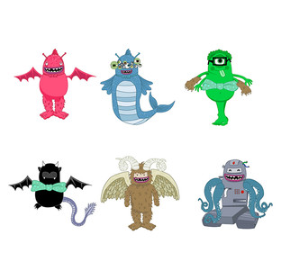Animated Monsters