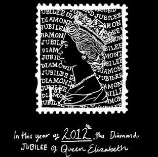 Jubilee Stamp Illustration