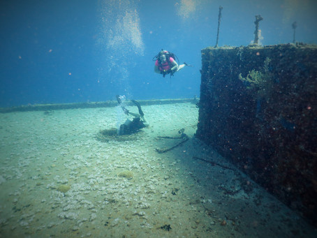 Incredible wreck dive and lobster dive