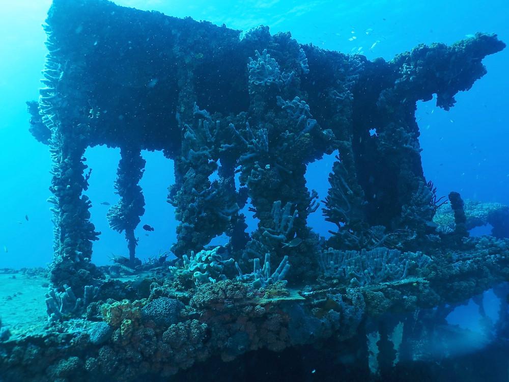 wreck diving St. Thomas