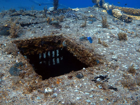 Wreck diving in St. Thomas