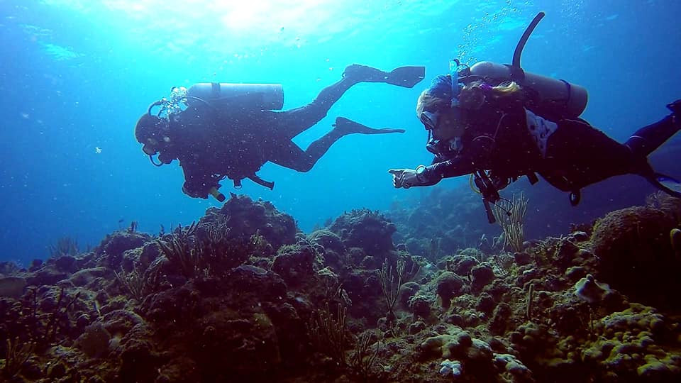 Scuba diving with family St. Thomas