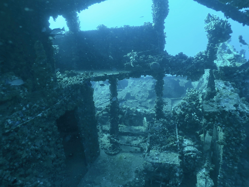 Wreck diving St. Thomas