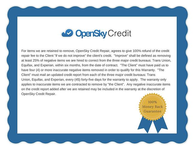 Orlando Florida Credit Repair OpenSky