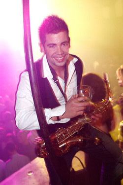 Marco sax saxofonist live artiest