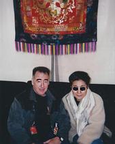 With Yoko