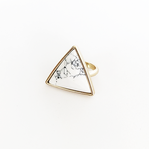 Marble Arrow Ring