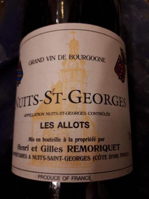 Domaine Remoriquet Nuits-Saint-Georges Les Allots 2003