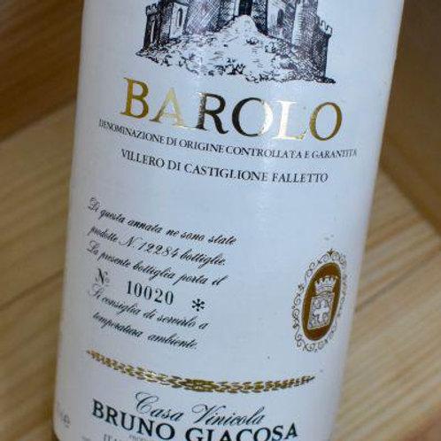 Bruno Giacosa Barolo Villero di Castiglione Falletto 1982 Barolo