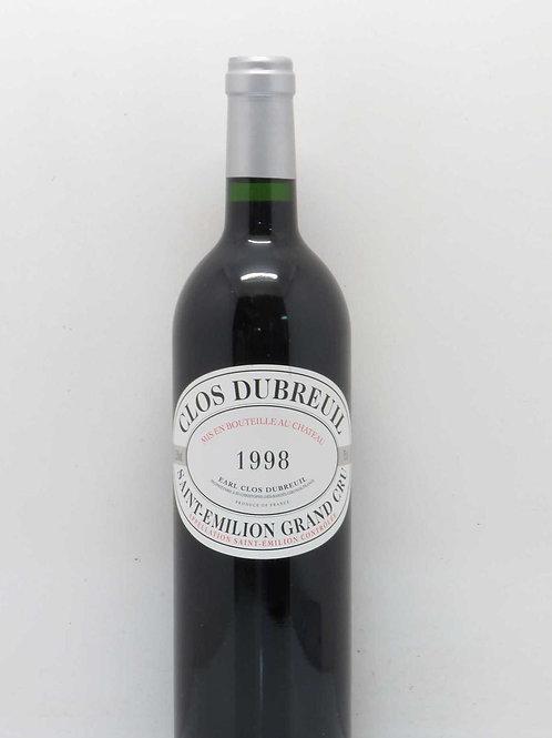 Clos Dubreuil 1998 Saint-Emilion Grand Cru