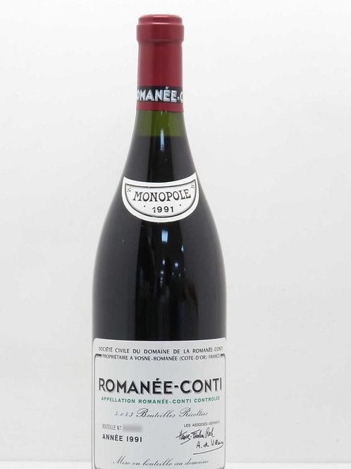 Domaine de la Romanée-Conti Romanée-Conti Grand Cru 1991
