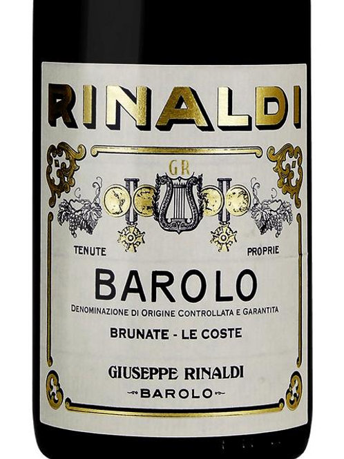 Giuseppe Rinaldi Barolo Brunate Le Coste 1991 Barolo