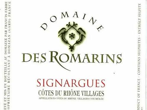 Côtes du Rhône Villages « SIGNARGUES », Rouge, 2018