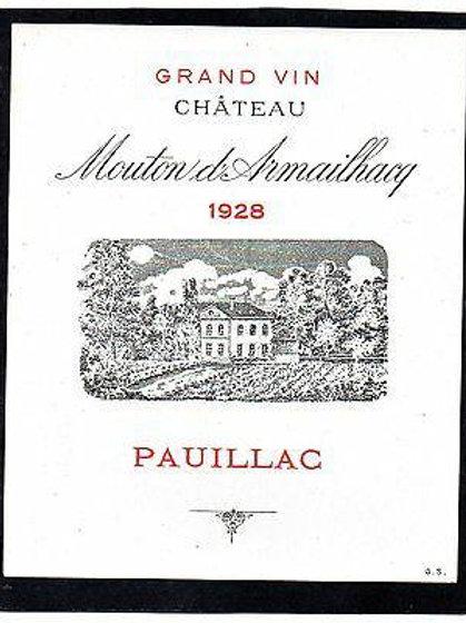 Mouton d'Armailhac 1928
