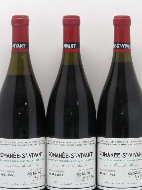 Domaine de la Romanée-Conti Romanée-Saint-Vivant Grand Cru 1992