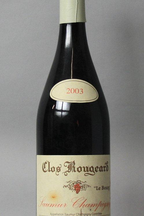 Clos Rougeard Saumur Champigny Le Bourg 2003 Rouge