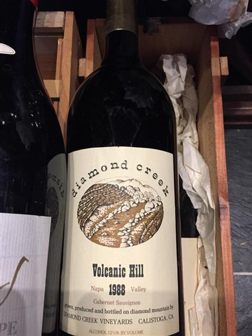 Diamond Creek Asst 3 blles : 1 Volcanic, 1 Gravelly, 1 Red Rock 1988 Napa