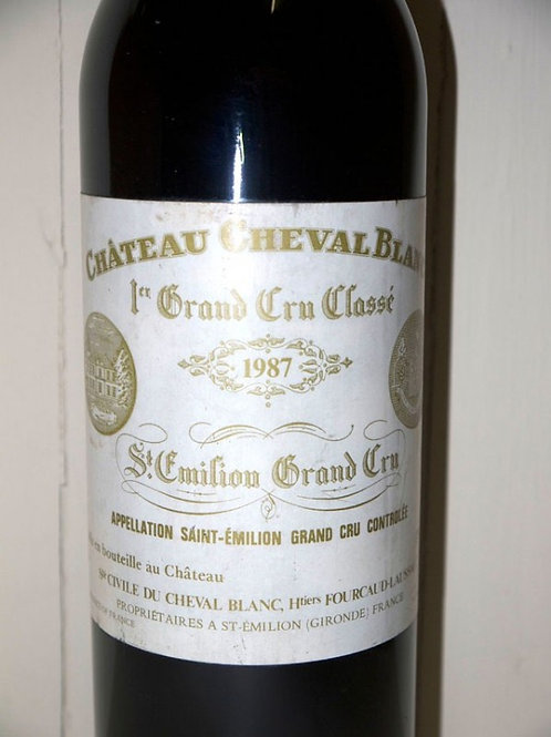 Château Cheval Blanc 1987 Saint-Emilion Grand Cru