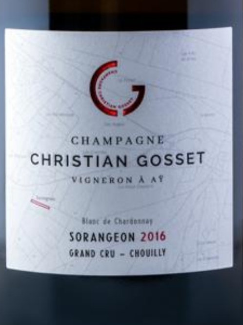 Sorangeaon 2016 Grand Cru Chouilly