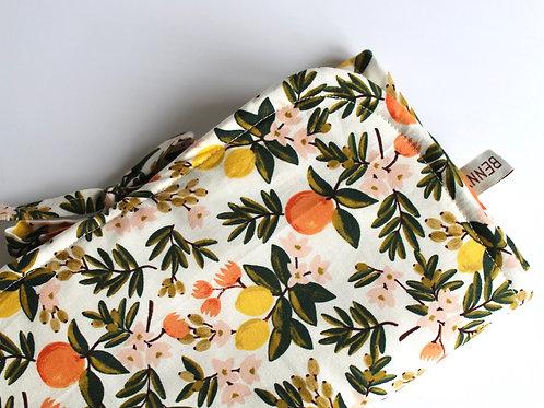 Citrus Floral Changing Mat