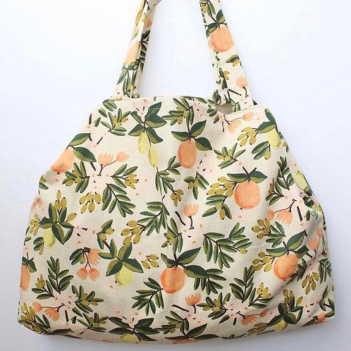 Citrus Floral Everyday Bag