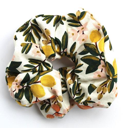 Citrus Floral Scrunchie
