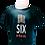 Thumbnail: Navy T-shirt 'Six In The City'