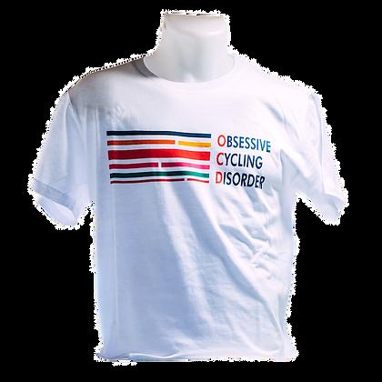 White T-shirt 'OCD'