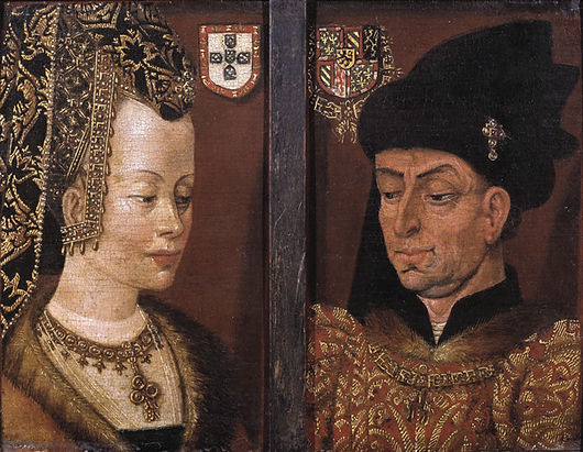 Philip the Good and third wife Isabella Duchess of Burgundy