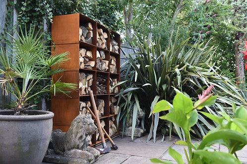 Set of 4 - Oxi Fire Log Boxes
