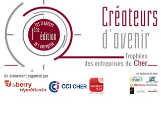 Nominés aux Trophées d'Entreprises Créateurs d'Avenir ! Votez pour nous !